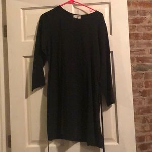 Flax black dress
